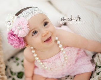 POSH IS BOSS Couture Headband - Preemie to Adult Sizes Available