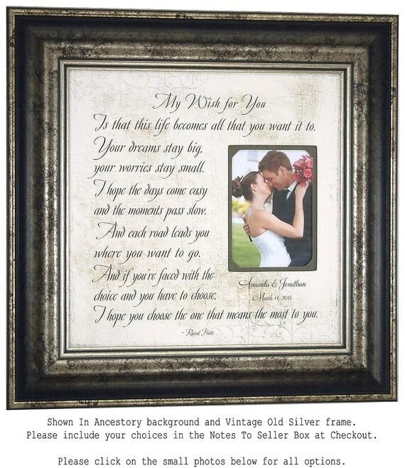 Bride Wedding Gift Lyrics Wedding Song By PhotoFrameOriginals
