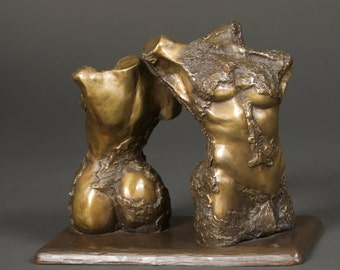 Adam and Eve New Skin - Original Bronze - One of a kind