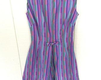 Vintage handmade 60's housewife dress/ pinup/ vintage dress
