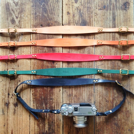 Artemis Leatherware Hand Stitched Leather Camera Strap (SUMMER SALE)