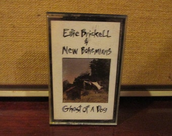 Tested and Working Vintage Audio Cassette Tape Eddie Brickell & New Bohemians Ghost of a Dog VG Condition