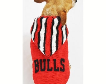 Michael Jordan 23 Dog Shirts NBA Chicago Bulls Pet by myknitt
