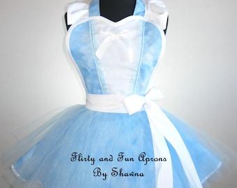 Cinderella Inspired Costume Tutu Apron