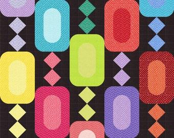Instant Download - PDF Quilt Pattern - Jewels Quilt Pattern