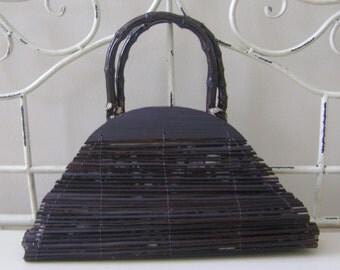 Tropical Bamboo Handbag