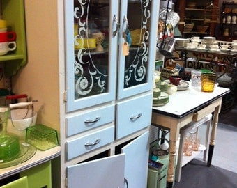 Painted Hutch Top