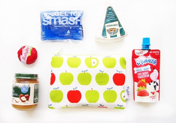 Mini Insulated Snack Bag - Green Apple