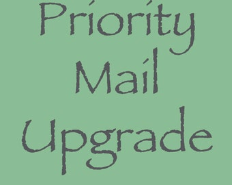 Priority Mail Upgrade - US Orders Only