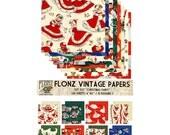 "Scrapbooking Craft Paper Pack (24pcs 6""x6"") FLONZ 037 Christmas Fairy"