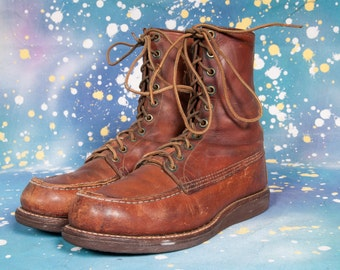 1960s Work Boot Men's Size 6 E