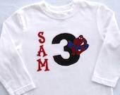 Spiderman Birthday Shirt