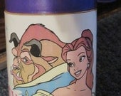 1990's Beauty and the Beast Aladdin Thermos.   Y-298