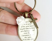 Mother of the groom key chain, gift for future mother in law, wedding gift for mother of groom