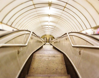 "London photography, London underground, minimal photography - ""The Tube"""