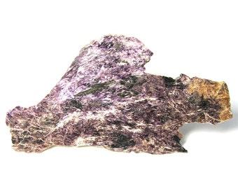Charoite Slab Specimen Russian Siberian Rare Stone