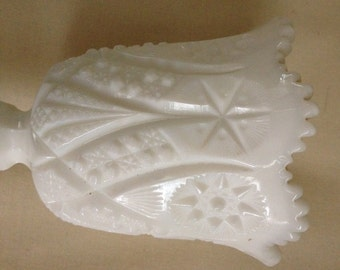 Kemple Milk Glass Stemmed Chalice Goblet