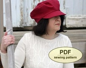 New: Sewing pattern to make the Castle Acre Cap - PDF pattern INSTANT DOWNLOAD