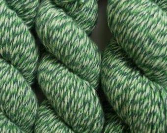 Eat Your Greens Recycled Aran Weight Wool Blend Yarn, WBL00096