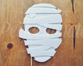 Mummy Mask Photo Prop | Mummy Prop | Halloween Photo Booth Props | Halloween Party Props