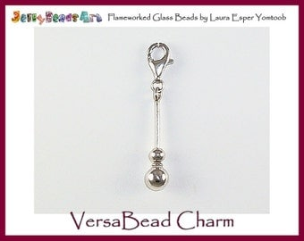 VersaBead CHARM - sterling silver bead holder