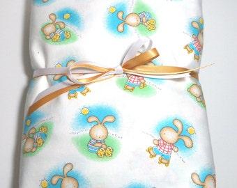 CLEARANCE Baby Bedding Toddler Sheet Crib Sheet Fitted Baby Bunnies Fitted Crib Sheet