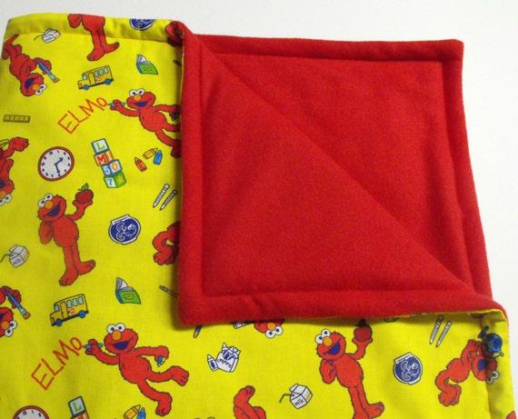 Elmo Comforter Blanket For Toddler Or Baby Sesame By