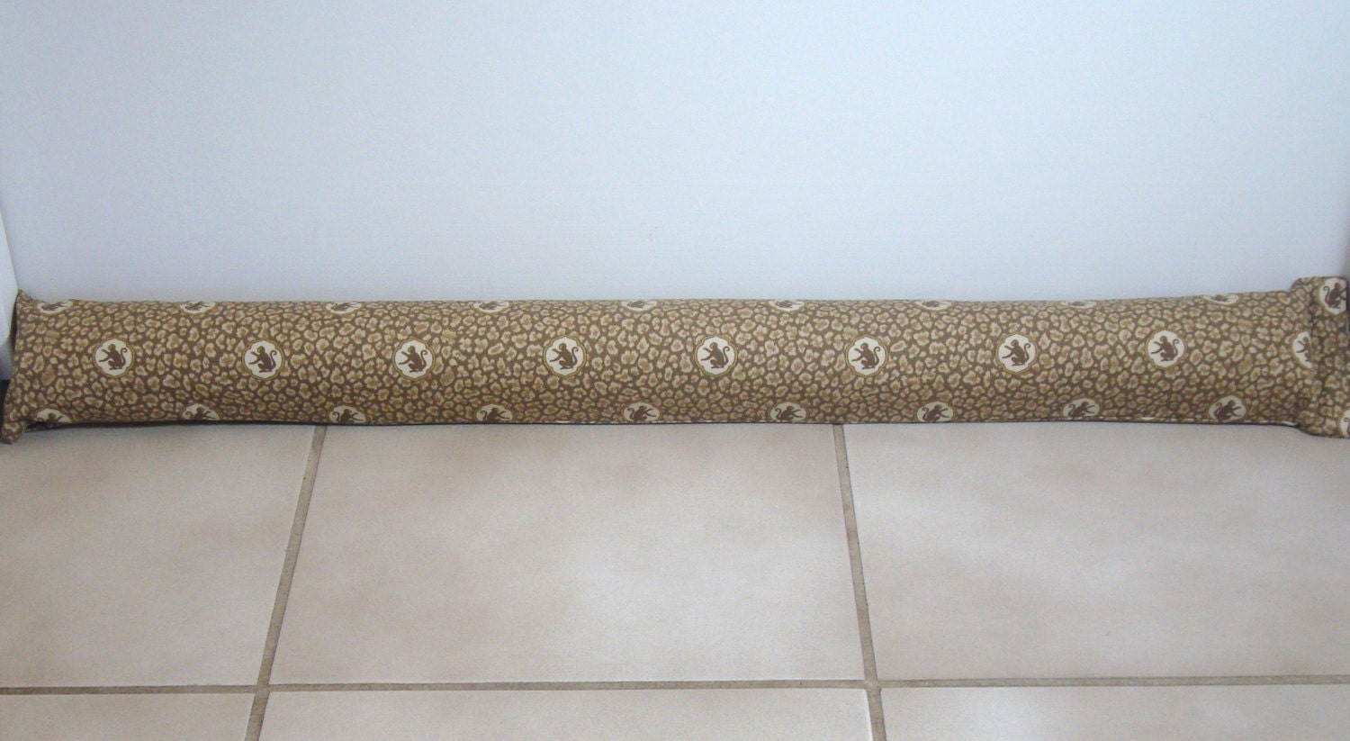 Leopard Monkey Door Draft Stopper Animal Door Draft Blocker