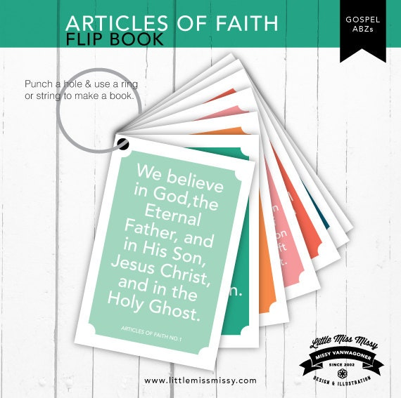 lds articles of faith pdf