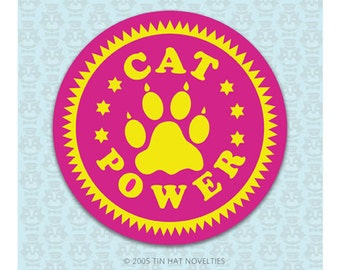 Cat Power Sticker