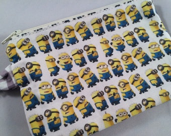 Despicable Me Minions Small Zippered Pouch