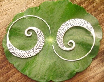 Silver earrings-The Silver One (8)