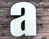 Reclaimed vintage letter - a - XL