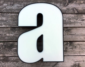 A - Reclaimed vintage letter - XL