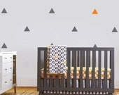 Wall Decal - Triangle decal , Repeating Pattern - wall Stickers - Custom wall stickers, Vinyl Wall Decals