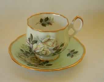 TEACUP, Vintage Royal Dover Bone China Pink Teacup