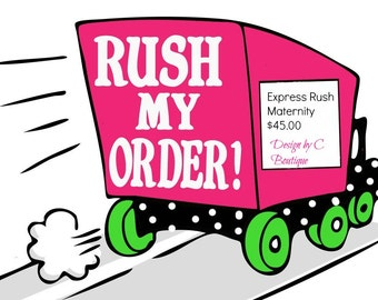 Express rush ADD ON , ready to ship in 3 business days plus shipping 1-2 days