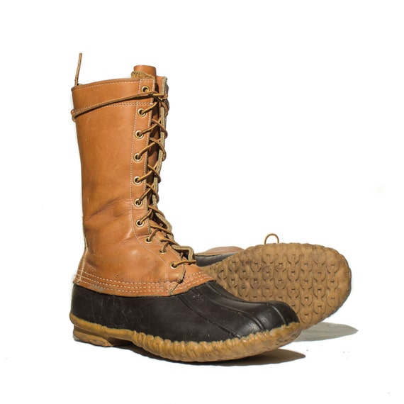 10 m s vintage ll bean boots duck boots by shopndg
