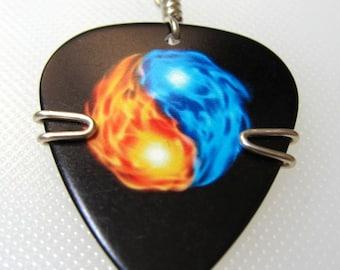 Yin Yang Guitar Pick Pendant
