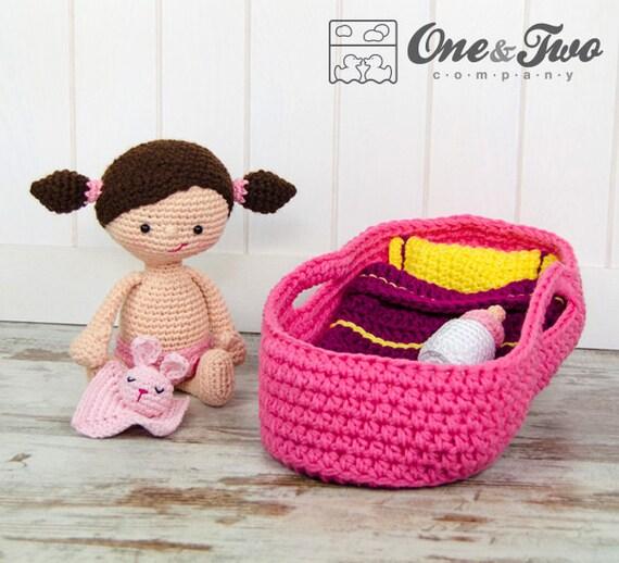 Amigurumi Baby Blanket : Little Me Playset - PDF Crochet Pattern - Instant Download ...