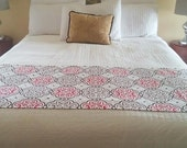 Bed Runner, Beddings, Bed Cover, Bed Scarf, Available In Different Sizes