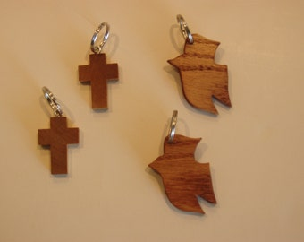 wood key rings
