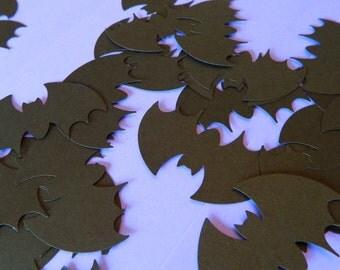 Black Bats Confetti/ 100 Paper Bats / Halloween Table Decor / Batman Decor / Halloween Party Decor /Halloween Bats/ Photo Prop