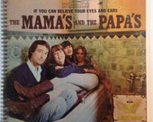 The Mama's and the Papa's Recycled Record Album Cover Book