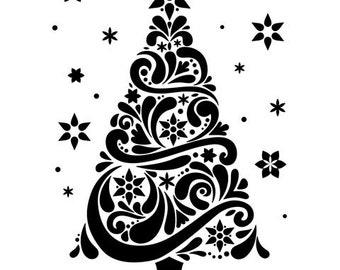 CHRISTMAS TREE Embossing Folder by Darice