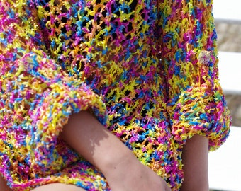 Colorful Summer Sweater