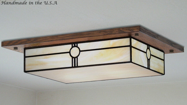 Mission Style Lighting Fixtures Four Light