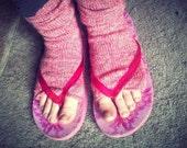 Toeless Socks