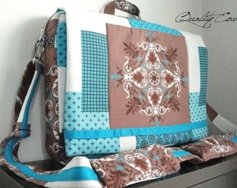 CUSTOMIZABLE as color Fabric and/or Size - CONVERTIBLE Backpack / Messenger bag / laptop COMPARTMENT- Fully super Padded