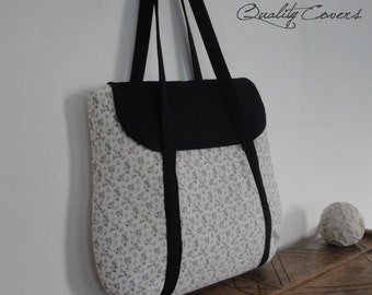 Customizable for Color Fabric and Size Laptop bag - Padded-Waterproof lining fabric-Tote-Handbag-Shoulder Bag-Everyday bag-interior Pockets